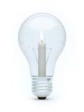 свечка шарика Стоковое фото RF