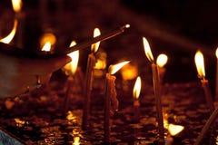 свечка Стоковое фото RF