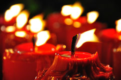 свечка Стоковые Изображения