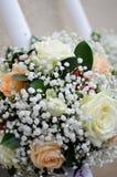 Свечки венчания для церемонии церков Стоковое фото RF