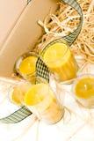 свечки желтого цвета стоковое фото