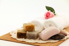 свечки мыла Стоковое Изображение