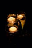 свечки плавать Стоковые Фото
