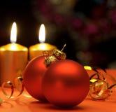 Свечки рождества Стоковое Изображение
