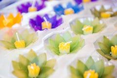 свечки цветков Стоковые Фотографии RF