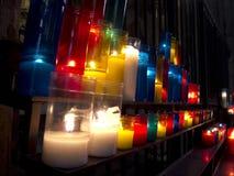 Свечки церков Стоковые Фото