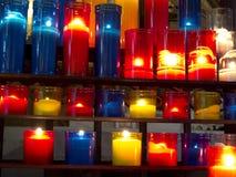 Свечки церков Стоковое Изображение RF