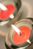 свечки 2 стоковая фотография rf