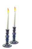 свечки 2 стоковые изображения rf