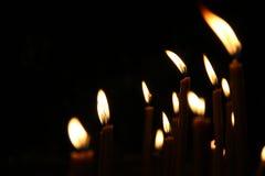свечки Стоковые Фото