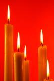 свечки 5 Стоковые Фотографии RF