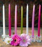 свечки 7 Стоковая Фотография