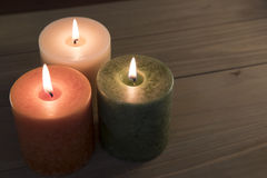 свечки 3 Стоковые Изображения