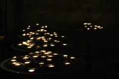 Свечки Cathederal Стоковая Фотография