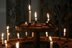 Свечки Cathederal Стоковые Фотографии RF