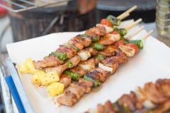 Свинина барбекю и жаркого стоковая фотография rf