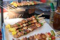 Свинина барбекю и жаркого стоковое изображение rf