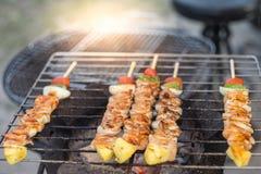Свинина барбекю и жаркого стоковое изображение