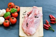 свинина мяса сырцовый стоковое фото rf