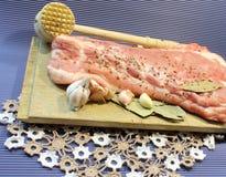 свинина мяса сырцовый Стоковые Фото
