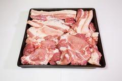 свинина сырцовый Стоковое Изображение RF