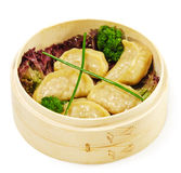 свинина японца вареников кухни стоковые фото