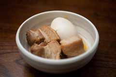 свинина kakuni кухни японский Стоковое Изображение RF