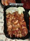свинина kebab Стоковые Фотографии RF