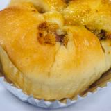 Свинина shredded хлебом Стоковое Фото