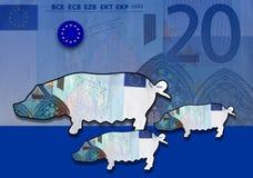 свиньи рынка к Бесплатная Иллюстрация