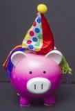 свинья дня рождения Стоковые Изображения