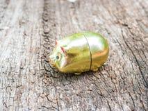 Свинья золота Стоковое Изображение