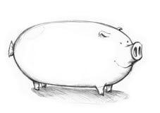 Свинья или сосиска Стоковое Изображение