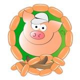 свинья палачества Стоковое Изображение