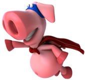 свинья супер иллюстрация штока