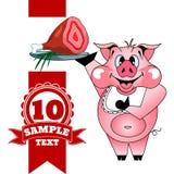 Свинья с ветчиной Стоковые Изображения RF