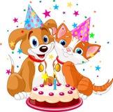 свинья дня рождения Стоковое Изображение