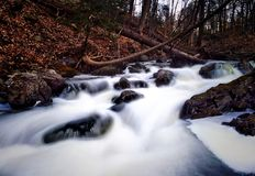 Свирепствуя речные пороги реки Стоковые Фотографии RF