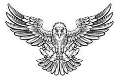 Свирепый орел иллюстрация штока