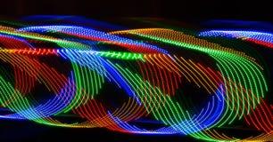 Свирли и волны света Стоковые Изображения
