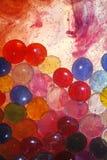 свирли краски шариков стеклянные Стоковые Фотографии RF