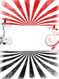 свирли красного цвета copyspace предпосылки черные Стоковое Изображение RF