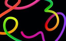 Свирли яркой красочной своеобразной жидкостной формы подачи градиента смеси жидкой живые бесплатная иллюстрация