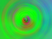 свирль зеленого цвета предпосылки Стоковые Изображения RF