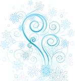 Свирль зимы Стоковые Изображения RF