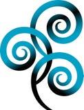 свирль логоса Стоковые Фотографии RF