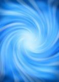 свирль предпосылки голубая Стоковое Изображение RF