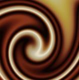 свирль смешанная шоколадом Стоковое Изображение RF