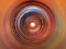 свирль цвета глубокая Стоковое Изображение RF