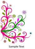 свирль цветка Стоковое Изображение RF